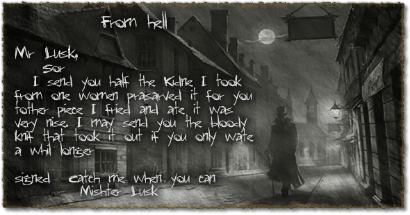 Jack the Ripper - From Hell