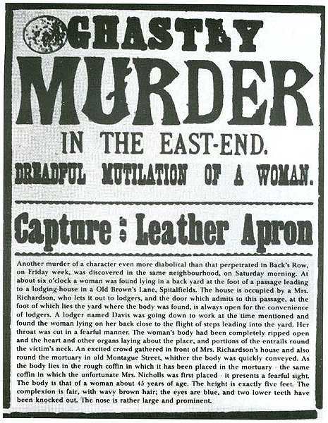 Jack The Ripper 1888 Autumn Of Terror In Whitechapel London