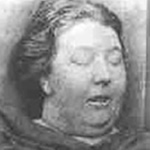 Mortuary photo of Martha Tabram