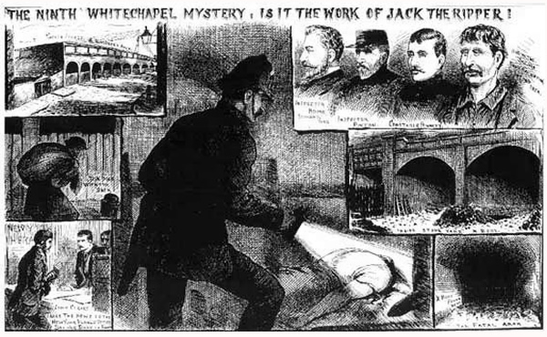 Pinchin Street Torso - from the Illustrated Police News