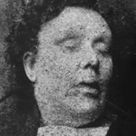 Mortuary photo of Annie Chapman
