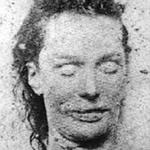 Mortuary photo of Elizabeth Stride