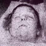 "Mortuary photo of Mary Ann ""Polly"" Nichols"