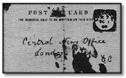 Saucy jack Postcard