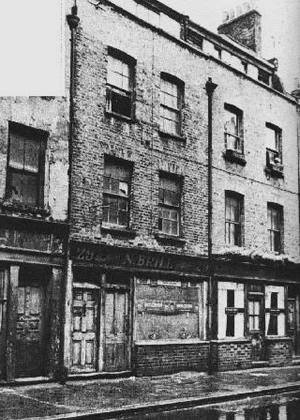 29 Hanbury Street, Spitalfields