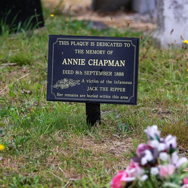 Annie Chapman Cemetery Plaque