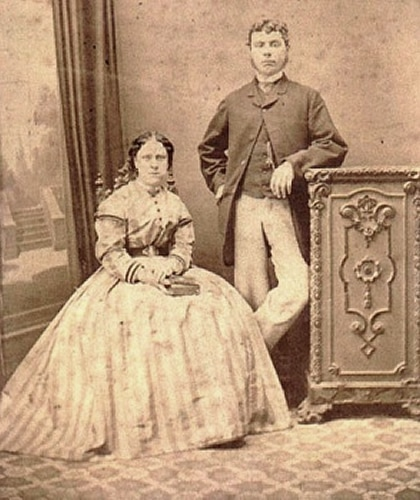 Annie Chapman with Husband, John
