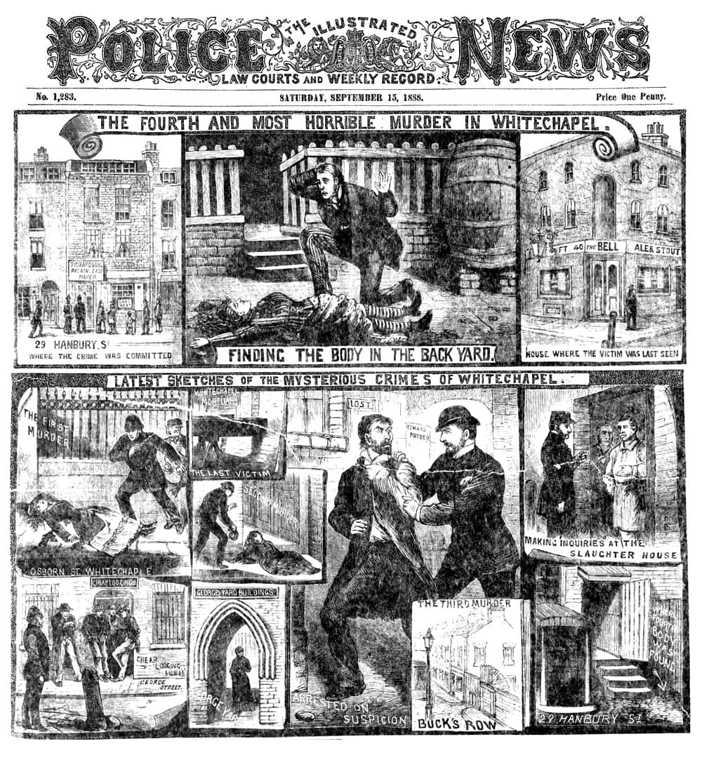 Illustrated Police News 1888 - Annie Chapman Murder