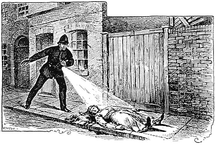 Mary Ann Nichols' Body Found on Buck's Row, Whitechapel
