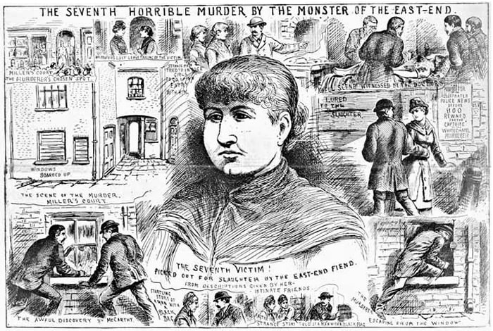 Mary Jane Kelly - Illustrated Police News