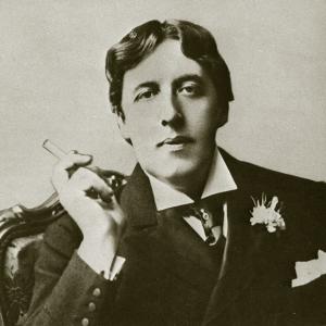 Oscar Wilde Wearing a Frock Coat