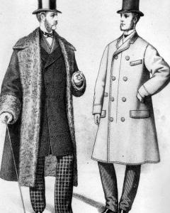 Victorian Era Men's Coats