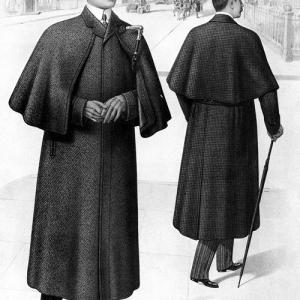 Victorian Era Men's Ulster Overcoat