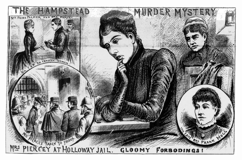 Mary Pearcey from the Illustrated Police News, 1890
