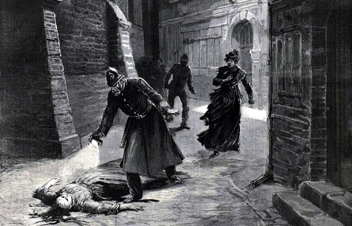 Jack the Ripper Murder Scene