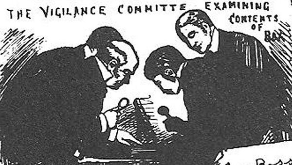 Whitechapel Vigilance Committee receives From Hell Letter