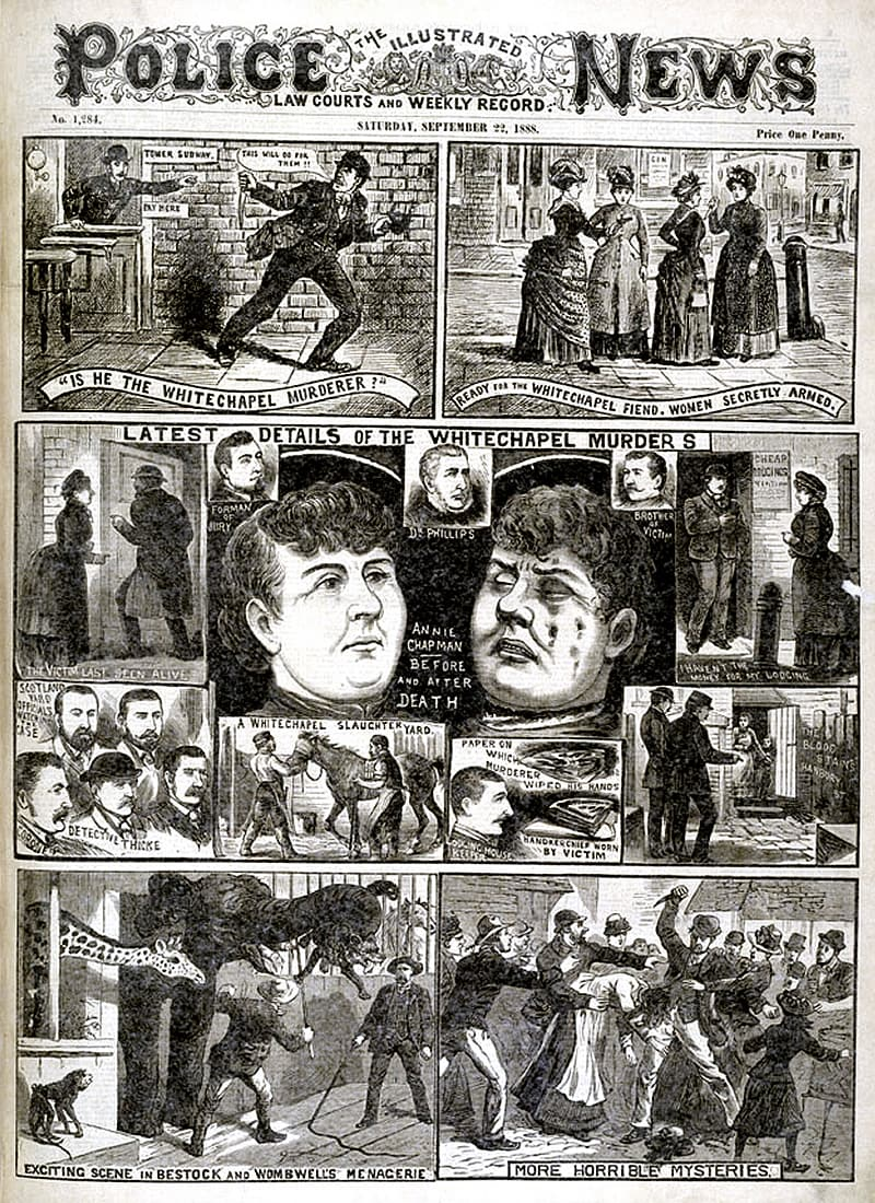essay questions on jack the ripper