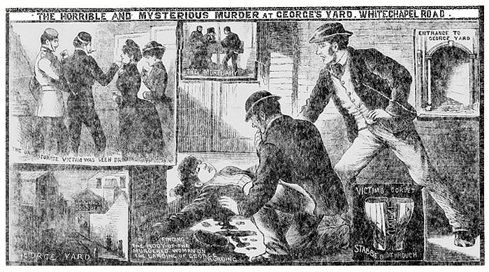 Murder of Martha Tabram - Illustrated Police News